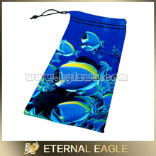 Custom design cell phone accessories, 3d soft glasses pouch bag holder, watch bag
