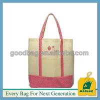 mini waterproof long tote canvas beach bags wholesale bag wholesale,China supplier
