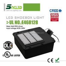 Outdoor lighting SNC led street light 150w LED Shoebox Light/led shoebox retrofit kits with cUL UL DLC certificates