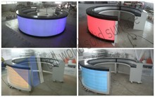 Factory Price New Design LED bar tables for nightclub