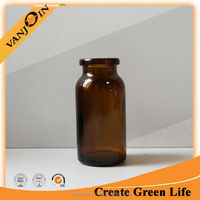Cheap Glass Amber Molded Vial