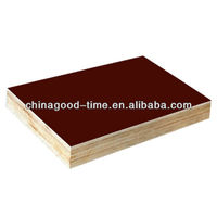 Marine construction waterproof film faced plywood/concrete form plywood board
