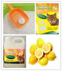 2015 hot sale bentonite scented clean cat sand