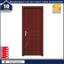 lightweight hardwood oak/teak veneer panel wooden door design