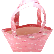 Girl ecofriendly shopping bag/printed shopping tote from recycled material