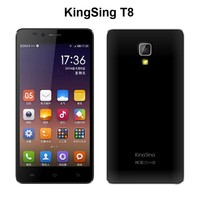 Kingsing T8 Mobile Phone 5.0'' MTK6592 Octa Core 1GB RAM 8GB ROM 5.0MP Android 4.4 WCDMA 3G Network Smart Phone