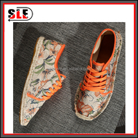 Wholesale men's and women's shoes 2015 summer new men canvas shoes manufacturers selling handmade hemp bottom