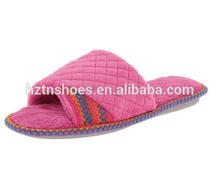 Women's Coral fleece winter slipper Open Toe indoor slippers