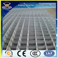 Galvanzied welded wire mesh fence panels in 6 gauge China supplier