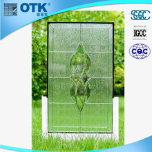 Made in china decorative stained glass windows/insulated glass panels