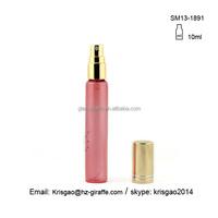 Good quality10ml travel refillable empty cute perfume bottle