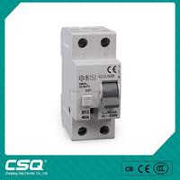 CSQETI 2P/4P 16a,25a,40a,63a earth leakage circuit breaker 500ma