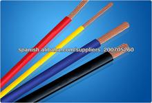 PVC recubierto de alambre eléctrico para la venta