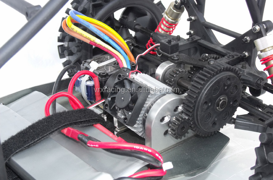 Converting Gas Rc Car To Electric
