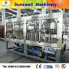 Glass bottling automatic 3 in 1 tea and juice beverage producing line