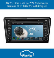 """8"""" 3G/Wifi High quality android4.0 Car DVD for VW new Jetta Santana 2013 with Gps Navgigation,Bluetooth,Ipod,Free map"""