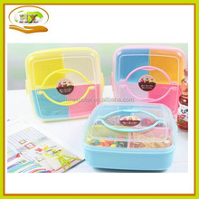 Lunch Box With Lock Clear Plastic Box