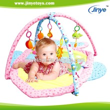 outdoor cotton fabric pinky baby play mat