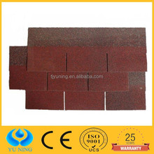3 tab red roofing shingles