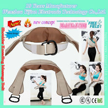 F-718B tie shoulder belt with humanized design unique to the human body neck, shoulder, waist deep kneading shiatsu and rubbing