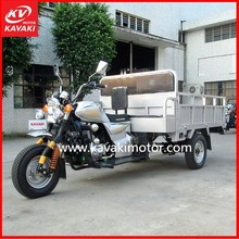 Chinese Three Wheeled Motorcycle Type and Gas / Diesel Fuel three wheel motorcycle