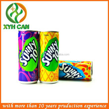 Wholesale 250ml aluminum can with tin lid
