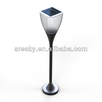 Outside Aluminum Lawn and Garden Lighting Pole Fixtures