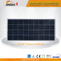 Widely Use Cheap Price 135w-150w Polycrystalline Solar Panels For Mobile Homes