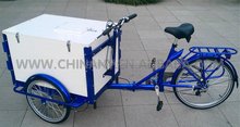 ice cream bike street vending tricycle for sale/Front_loader_cargo_trikes