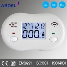 LCD Display Carbon Monoxide Alarm EN50291