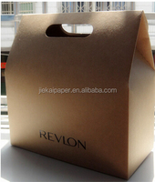 Die Cut Handle Kraft Brown Paper Bag