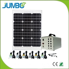 Top selling solar panel kit with LED lights and phone charger for africa