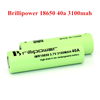 New ecigarette battery 18650 40a 3100mah for emods 3.7v 18650 lithium battery