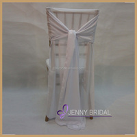 C007B very [popular chiffon tie back cheap chair covers for sale