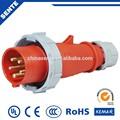 Hecho en china 3p+n+e zócalo industriales ip67 16a 380v para áreas peligrosas
