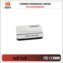 4 port usb3.0 hub with USB3.0 micro BM cable