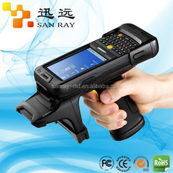 Factory price animal uhf rfid handheld reader with WinCE6.0(Sanray:P6100)