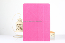 Multiple Colors For iPad Mini 4 Smart Newest Stand Leather Case With Back Plastic Cover