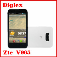 Wholesale ZTE V965 mtk6589 Quad Core Android Phone 4.5 Inch IPS Screen 5.0MP Dual Sim Card