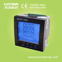 energy meter, SMART X835 Three Phase Multi-function Smart Power Meter, Panel Mounted Energy Meter,CE Approved, 96*96mm