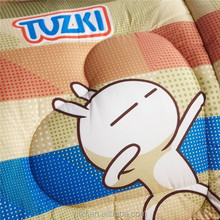 china wholesale embroidery designs patchwork quilt with cartoon print for children beds