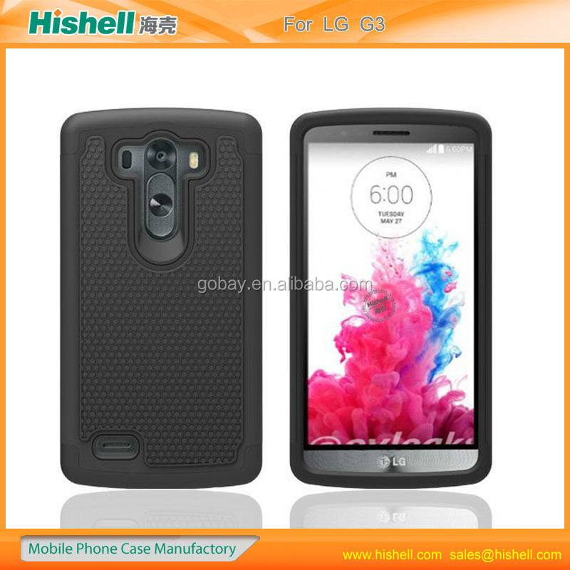 high quality durable mobile phone case for LG G3
