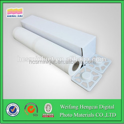 waterproof blank art silky satin cloth for printing