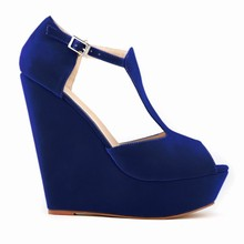 2015 para mujer plataforma de moda zapatos de vestir