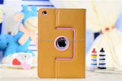 Universal leather flip cover case for ipadmini, for ipad mini universal leather case HH-IPM05-13