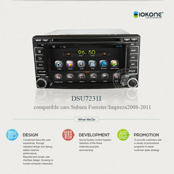 Android In-dash Car Stereo DVD player with 3G WIFI For Subaru Forester / Impreza 2008 2009 2010 2011