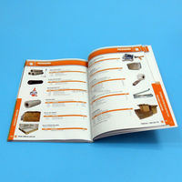 Saddle stitching offset printing parts catalog