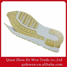 Rubber Phylon And TPR Material Latest Men Running Shoe Sole Design Make in China