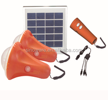High Quality Factory Made Waterpoof solar lantern with USB chargers and led flashlight