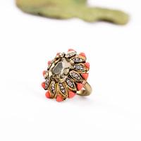 Pink Color Masonic Diamond Ring Design Jz00122